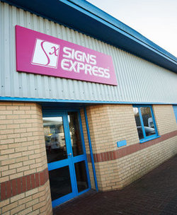 Signs Express franchise business opportunity for sale in South Yorkshire