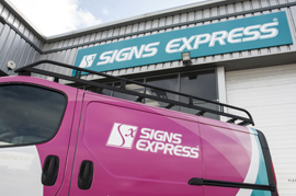 Signs Express franchise business opportunity for sale Buckinghamshire graphics sign
