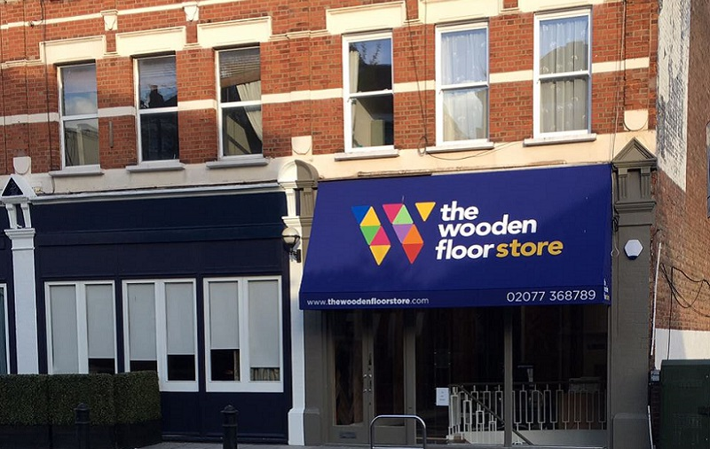 The Wooden Floor Store first franchise shop in London