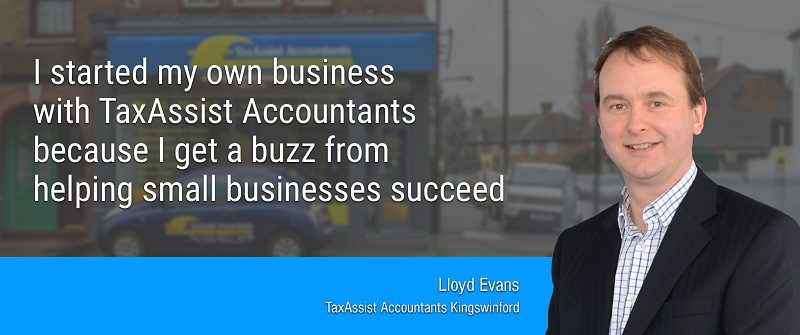 TaxAssist Franchisee Lloyd Evans