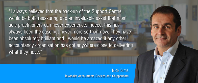TaxAssist Accountancy franchisee Nick Sims