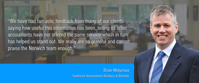 TaxAssist Accountancy franchisee Brian Molyneux