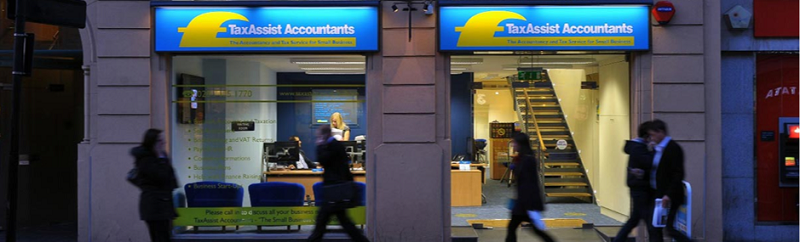 TaxAssist Accountancy Shop outside