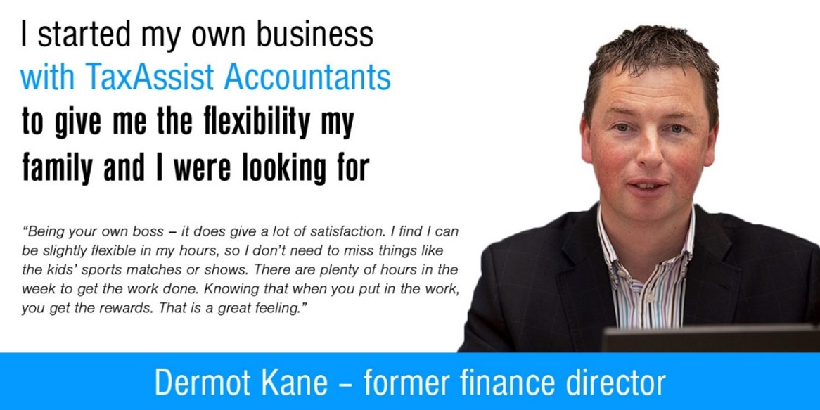 TaxAssist Accountants franchisee with quote