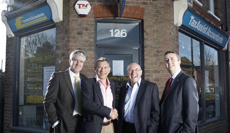 TaxAssist Head Office team outside one of their stores