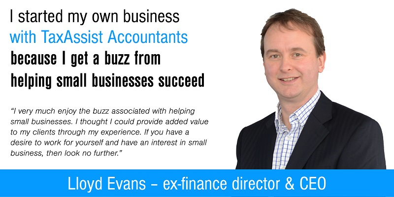 TaxAssist CEO Lloyd Evans