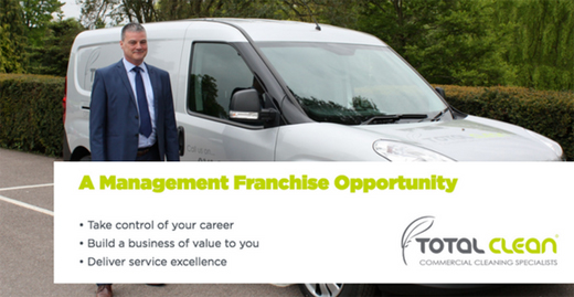 Total Clean Franchise Business Opportunity franchising cleaning clean commercial cleaners staff career job management premier service high profit market