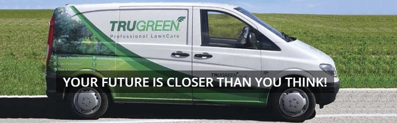 TruGreen franchise van