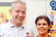 Photo of Tumble Tots franchisee Lee Ford from York