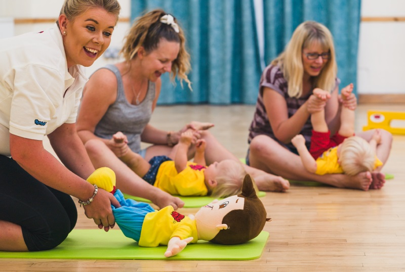 Tumble Tots baby class