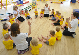 Tumble Tots franchise business opportunity children education physical skill play programme