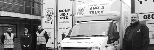 Two Men and a Truck franchise business Removals Moving Management Multi-Unit lucrative profitable global brand