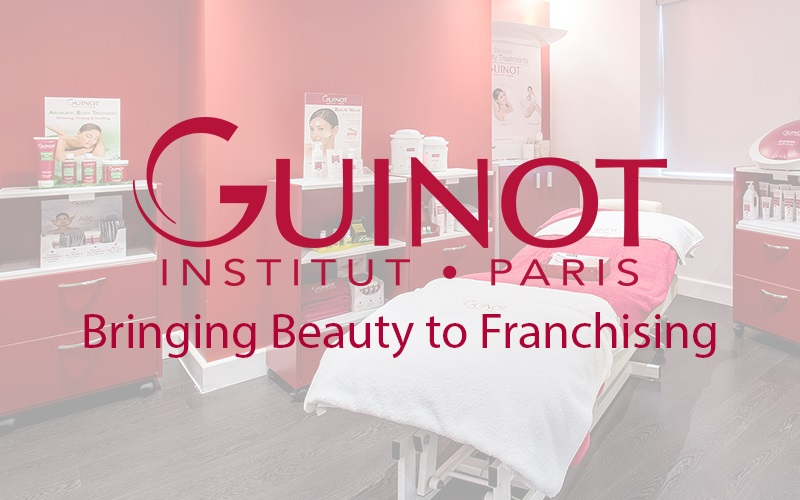 Guinot franchise business opportunity franchising health beauty skincare skin care retail pioneering brand global international brand established lucrative profitable money