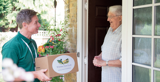 Wiltshire Farm Foods franchise business opportunity existing food delivery service elderly