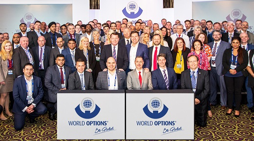 World Options Team Photo