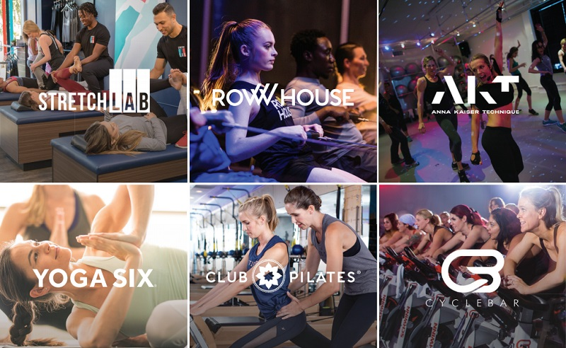 All franchises within the Xponential Fitness brand