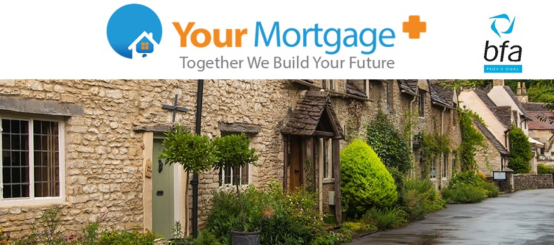 your mortgage plus franchise banner showing example of property they mortgage