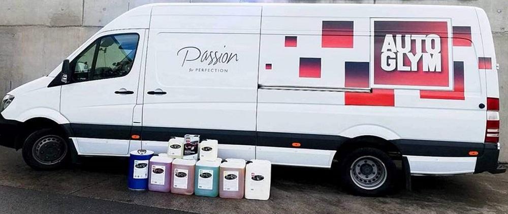 Autoglym van and products
