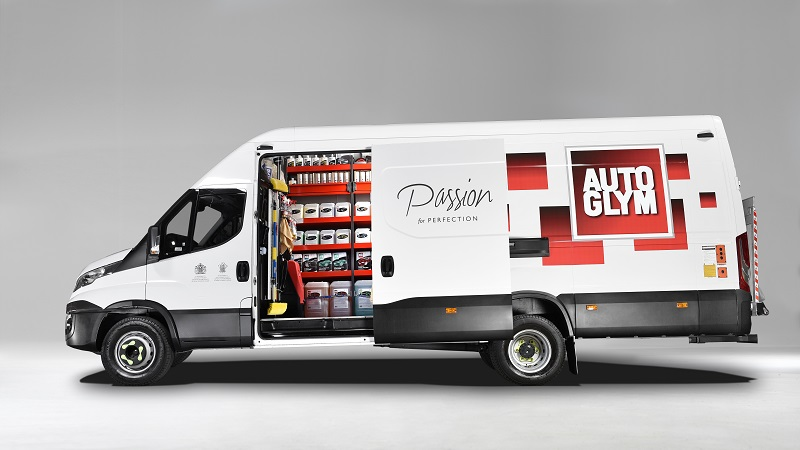 Autoglym van and products