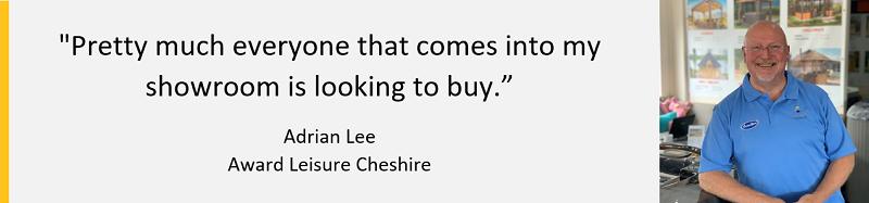 Award leisure Cheshire franchisee