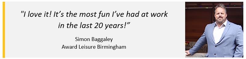 Award leisure Birmingham franchisee