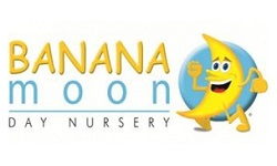 Banana Moon Day Nursery franchise logo