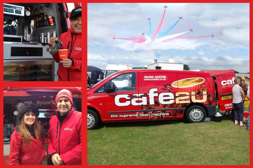 Cafe2U franchisees attending events