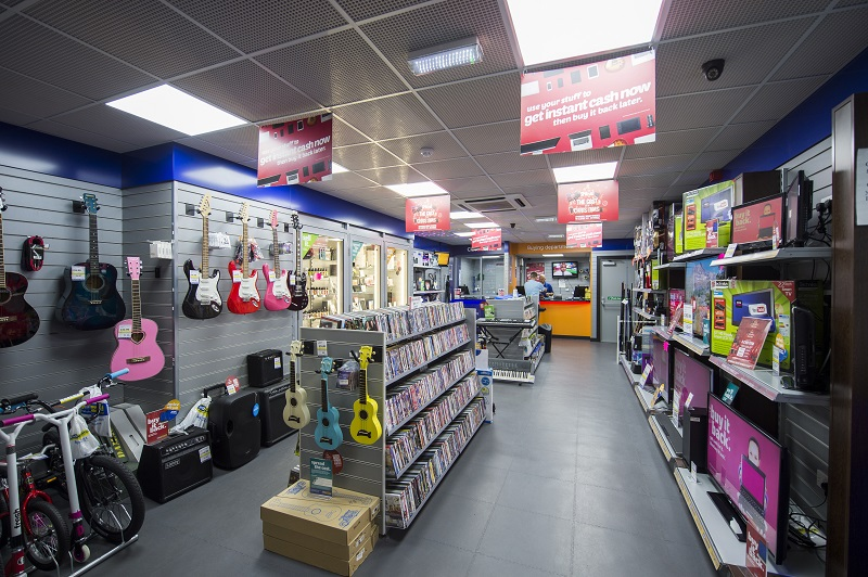 Cash Generator product range in store
