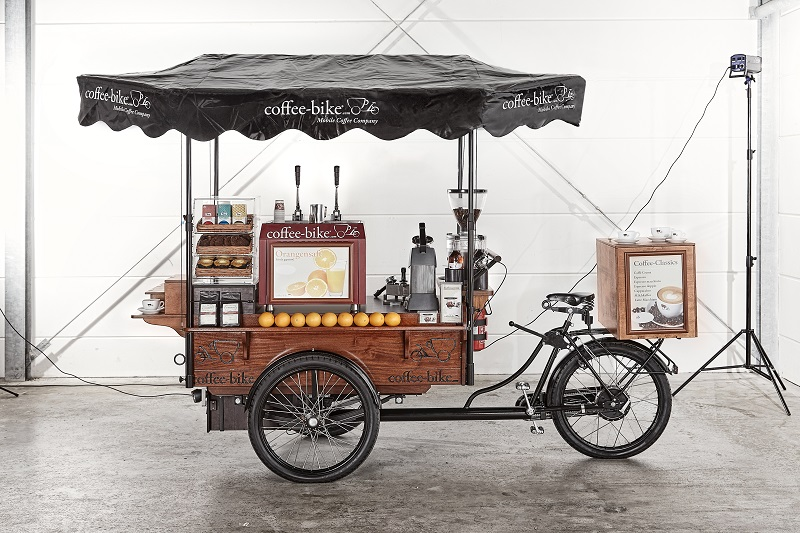 coffee-bike is a low cost coffee franchise
