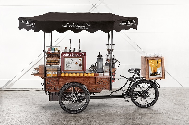 coffee-bike mobile franchise