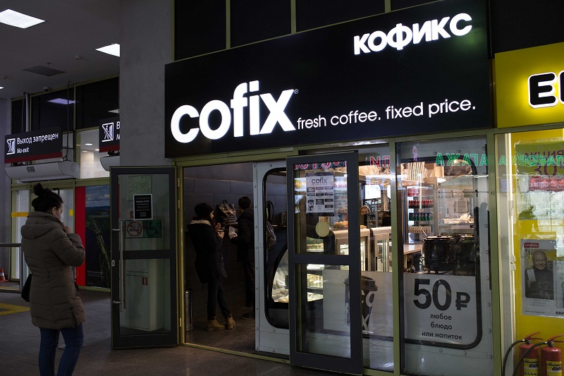 Coffee franchise with set price coming to uk