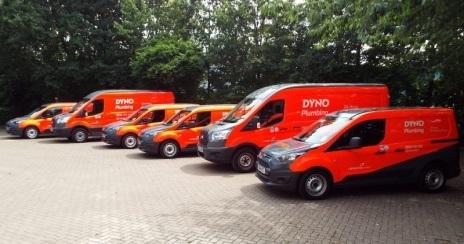 Fleet of Dyno vans