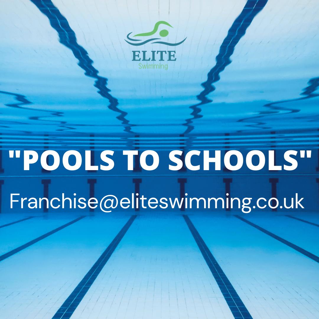 elite swimming pool banner