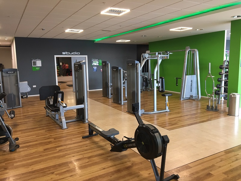 inside an energie fitness club