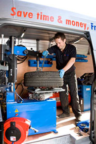 etyres franchise business opportunity tyres fitting mobile battery van based