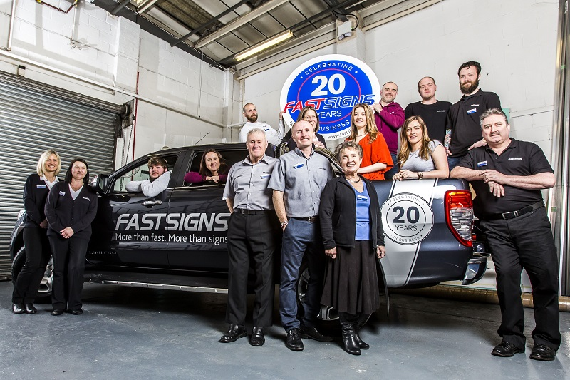 Fastsigns franchisees group photo