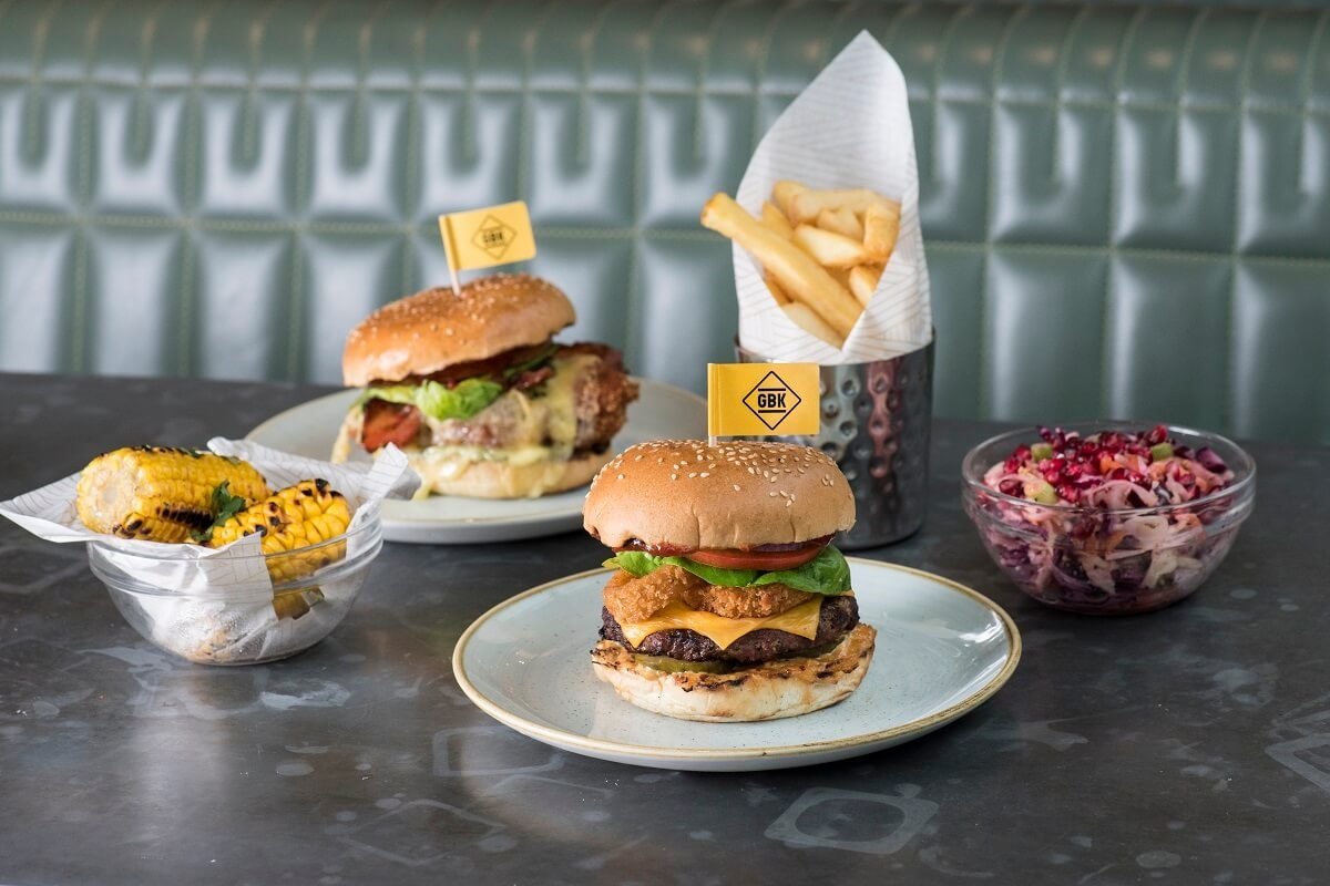 gourmet burger kitchen products gbk