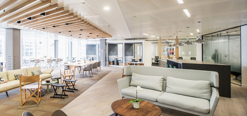 An example of flexible workspace by Regus
