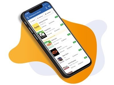 local eats app on mobile