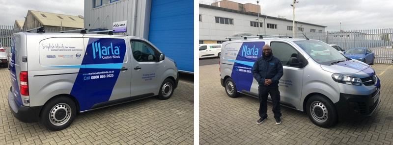 Marla Custom Blinds vans