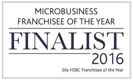 micro-franchisee of the year award 2016 finalist for TruGreen franchise