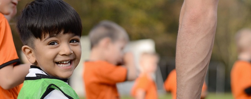 Mini Kicks franchise offers football academies for children