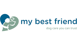 my best friend franchise Logo
