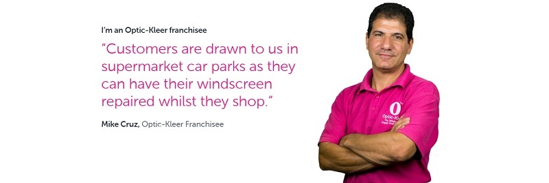 optic-kleer is the leading windscreen repair franchise in the UK