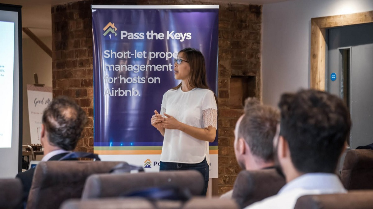 pass the keys franchisees receiving training
