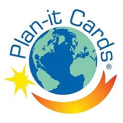 plan it cards franchise Logo