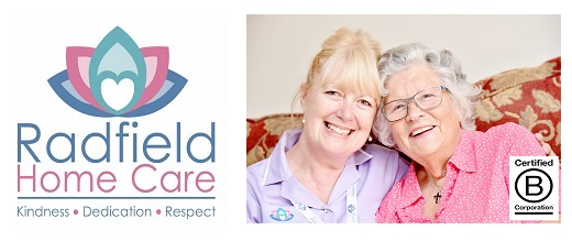 Radfield banner franchise business opportunity care carer senior support aged help elderly assistance lucrative industry home residential helper domiciliary service