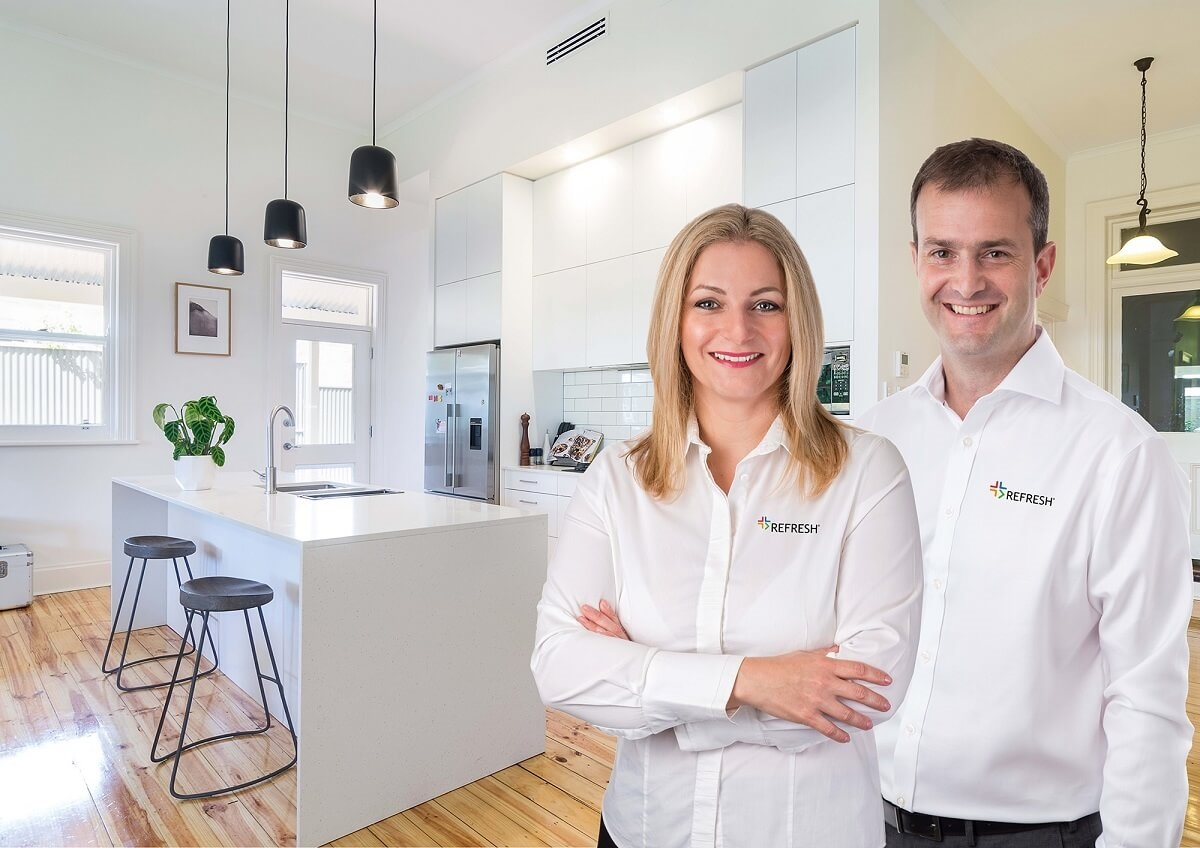 Refresh franchisees in renovated kitchen