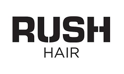 rush hair franchise Logo