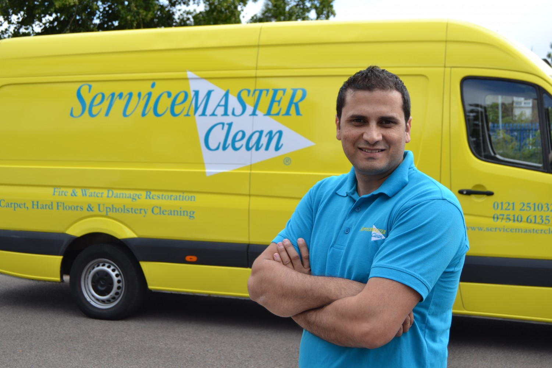 servicemaster franchises next to van